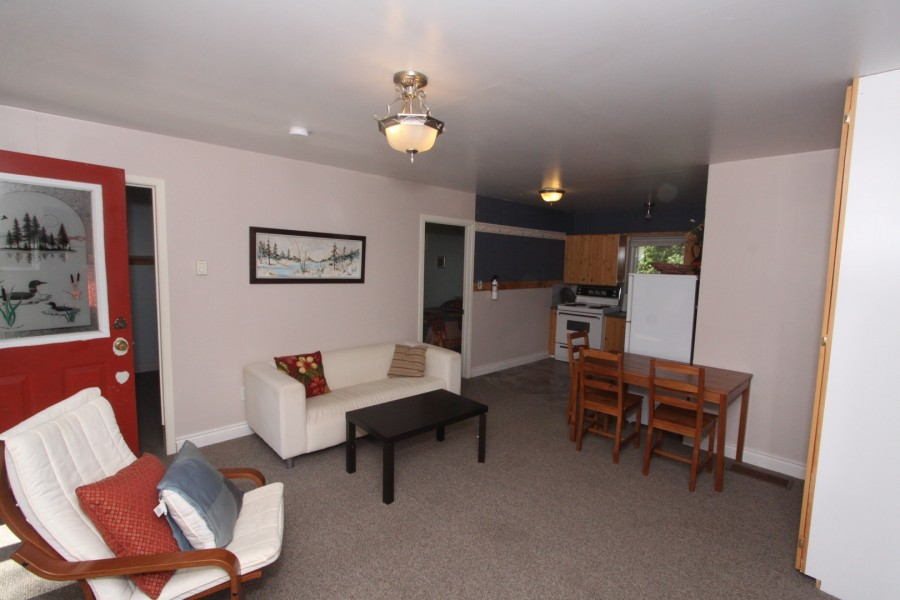 Living/Dining Room - Upper Level