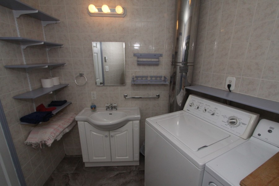 Bathroom/Laundry - Lower Level