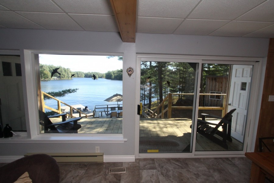 Living Room View of Lake - Lower Level