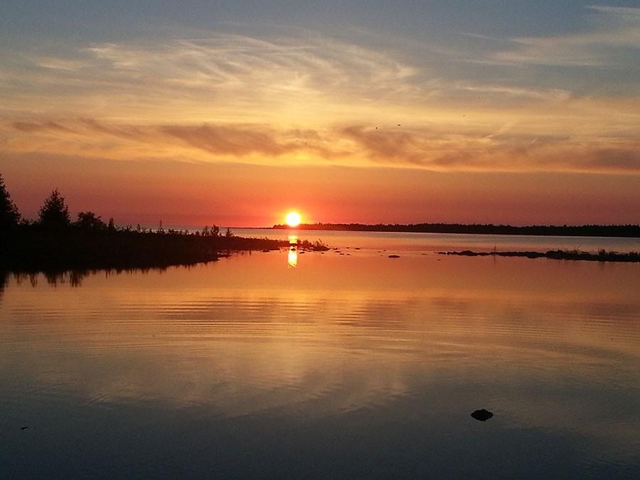 Sunset - Lake