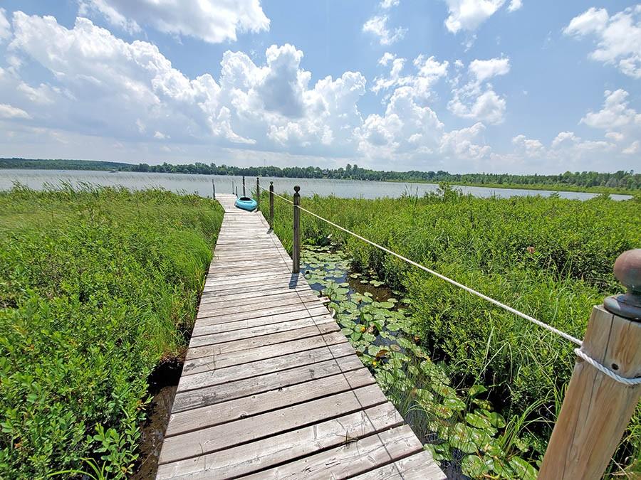 Boardwalk to Lake
