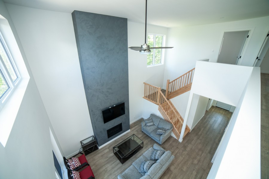 Living Room - View from Upper Level