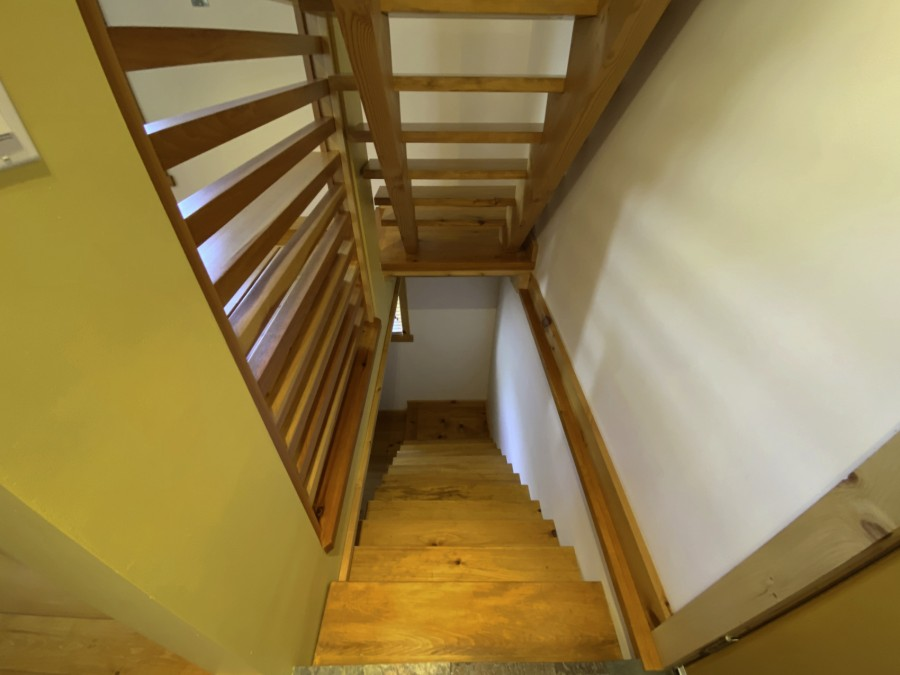 Stairs from Main Level to Lower Level