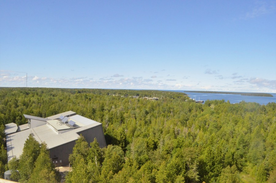 Fire Tower View at Visitors Centre