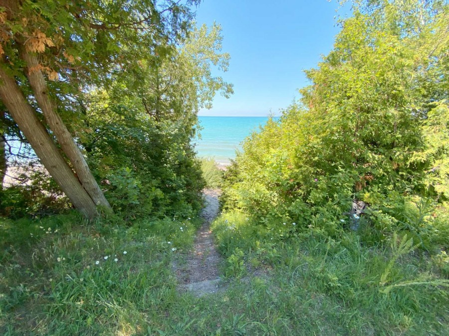 Trail to Beach Across Road