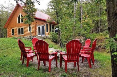 Forest View Log Cabin